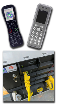 DECT Products - Butterfly, 7202, Spectralink and a KWS2500